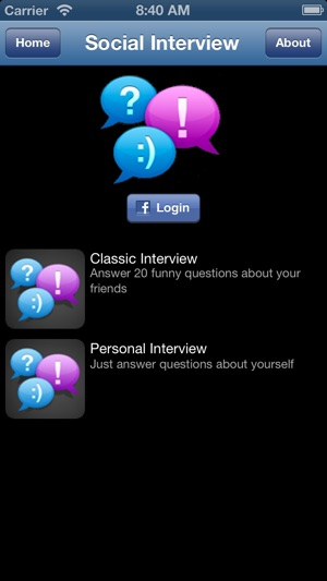 Social Interview on the App Store