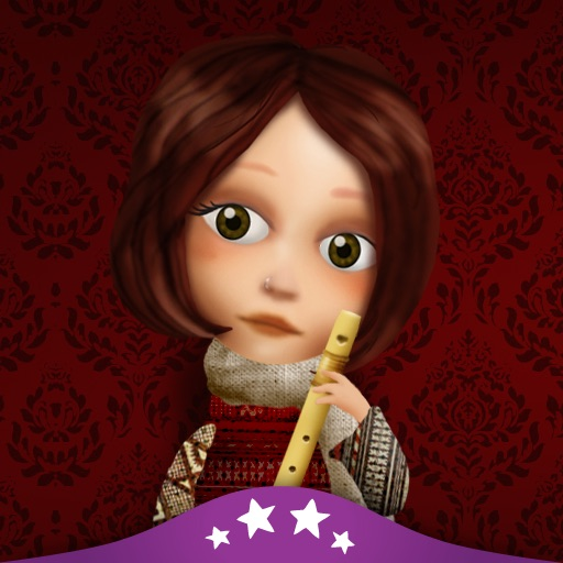 The Flautist of Hamelin - Children's Story Book icon
