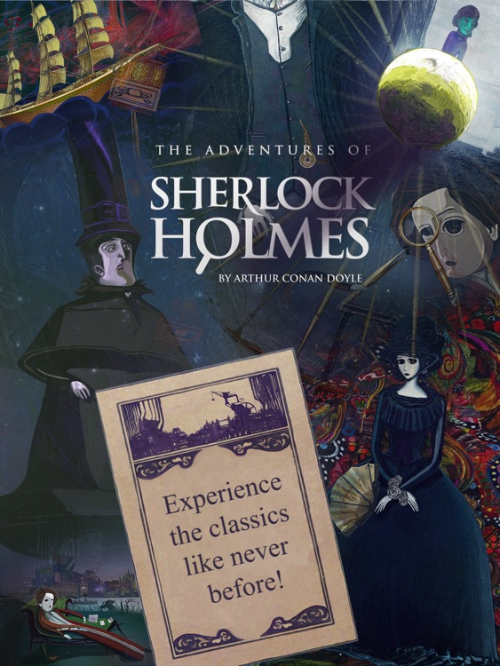 Sherlock Holmes for the iPad screenshot-4