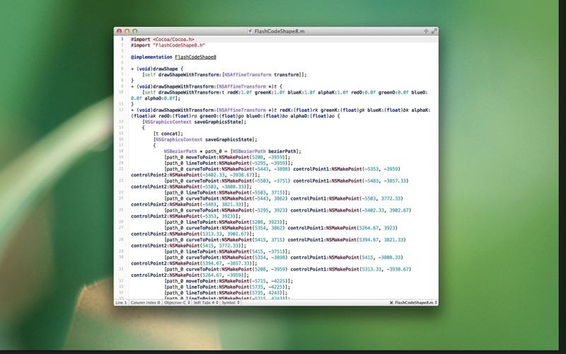 Flashcode review screenshots