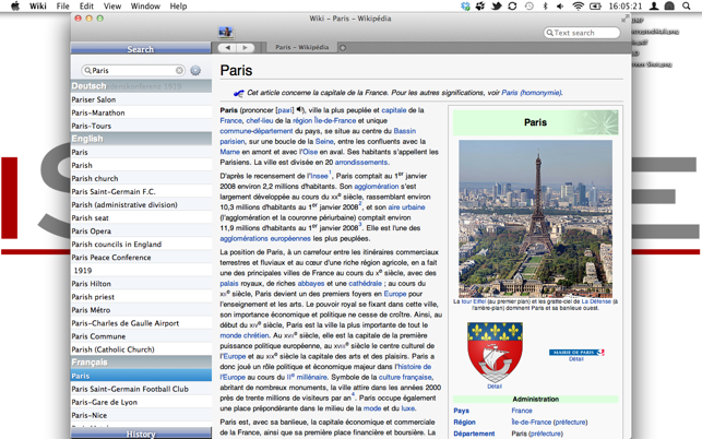 Wiki Reader on the Mac App Store