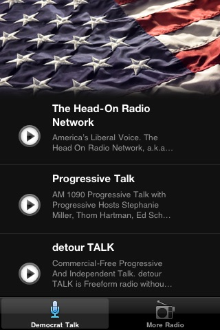Democrat Talk Radio FM - News from the Left