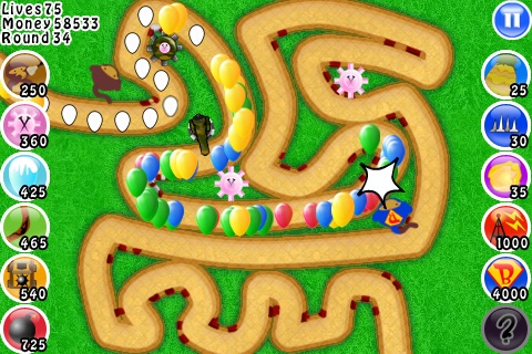Bloons TD screenshot-4