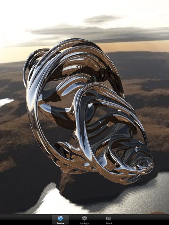 Quaternion Julia Raytracer HD screenshot-2