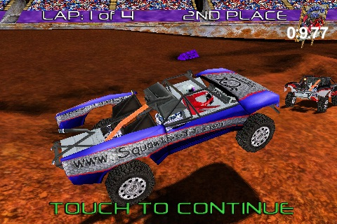 Pro Truck Rally Lite screenshot-0