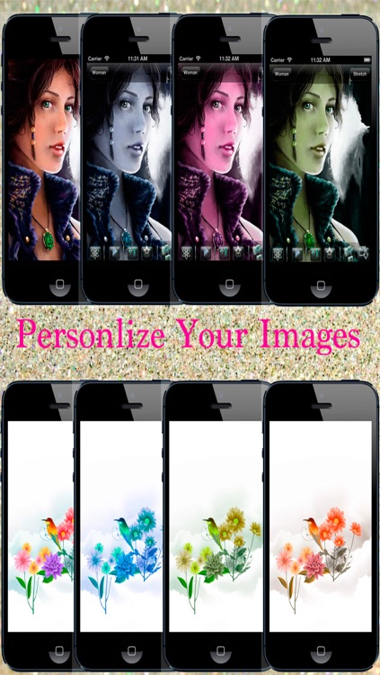 Fantasy Backgrounds for iPhone, iPad and iPod touch screenshot-3