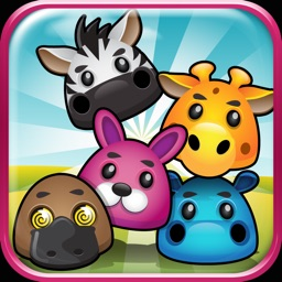 Animal Bubble Dots Zoo Splash - Match with Friends