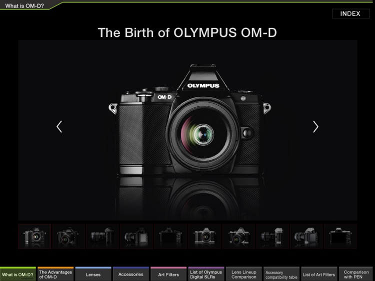 OM-D catalog English screenshot-2