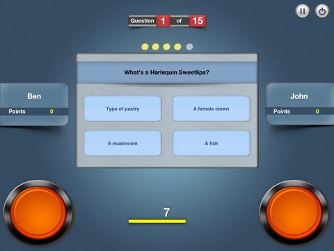 Buzzer Quiz - 1 vs. 1 Скриншоты7