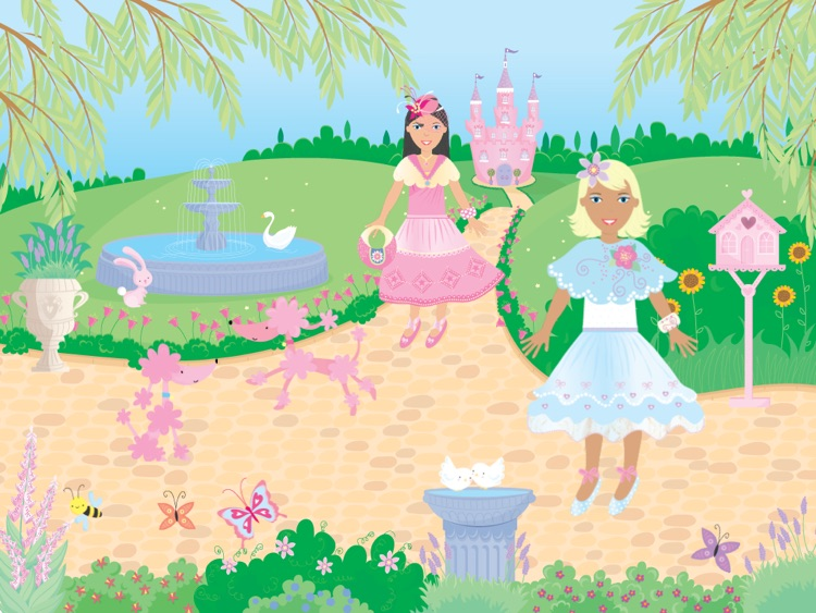 Usborne Sticker Dolly Princesses screenshot-3
