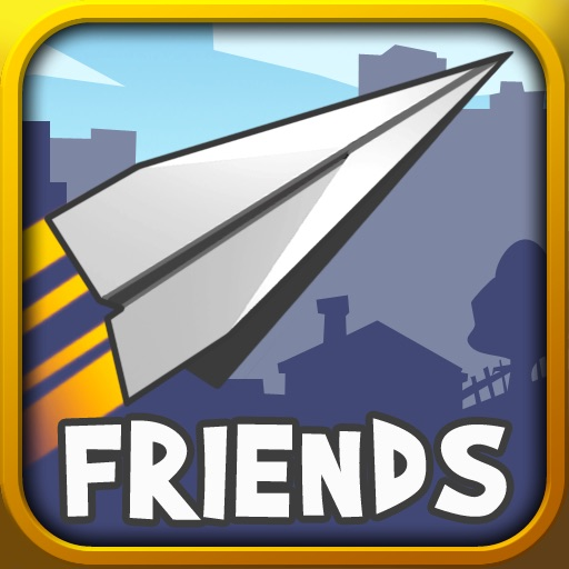 Paper Glider vs Friends