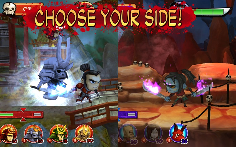 Samurai vs. Zombies Defense Screenshot