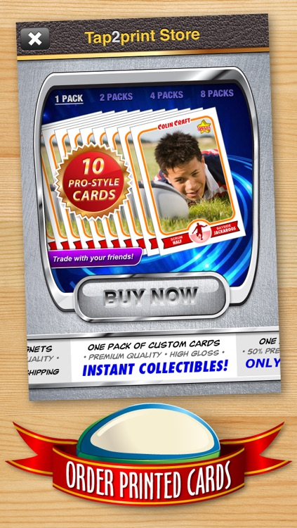 Rugby Card Maker - Make Your Own Custom Rugby Cards with Starr Cards screenshot-4