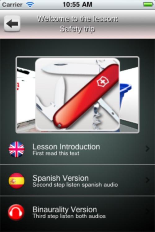 Listen and Learn Spanish screenshot-3