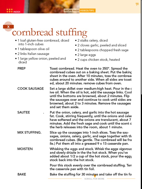 Gluten Free Thanksgiving Baking screenshot-3