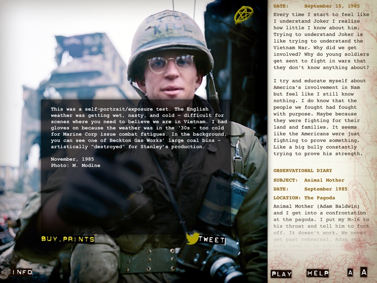 Full Metal Jacket Diary screenshot-3
