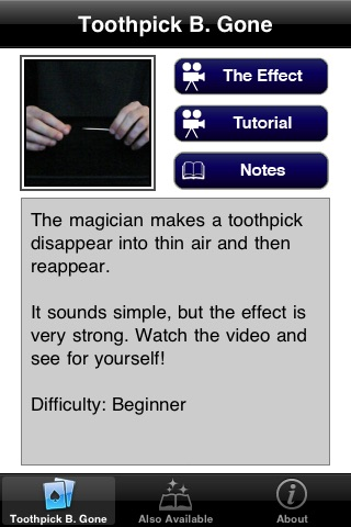 eMagic Revealed: Toothpick B. Gone