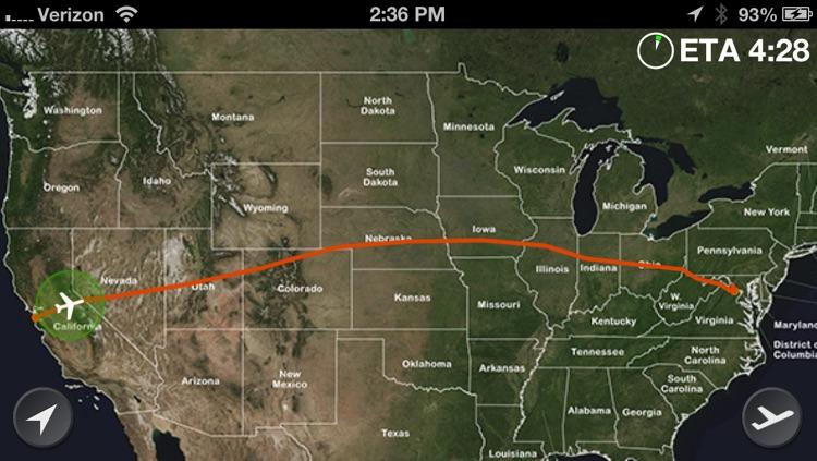 WindowSeat − Flight Tracker / Timer