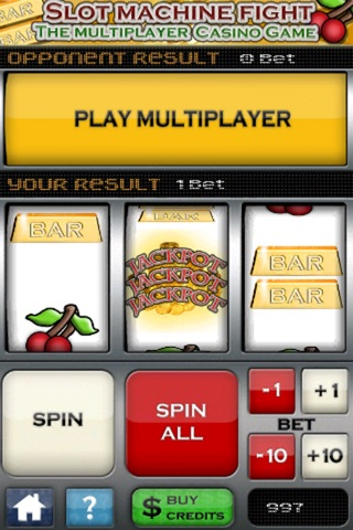 Slot Machine Fight , The multiplayer casino game 1.0.2 IOS