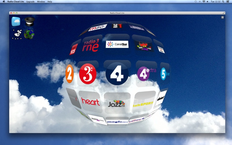 Radio Cloud Lite Screenshot