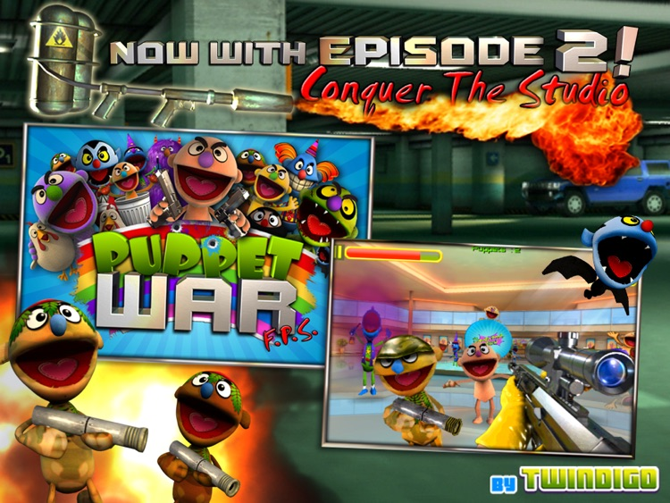 Puppet War HD screenshot-1
