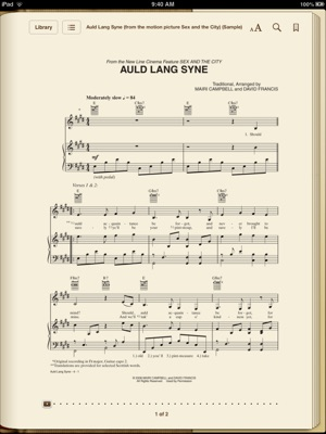 Auld Lang Syne (from the motion picture, Sex and the City)