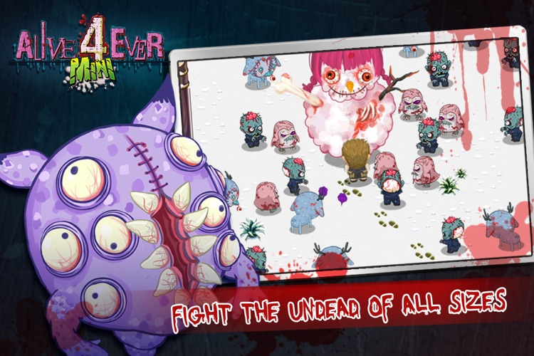 Alive4ever mini: Zombie Party screenshot-3