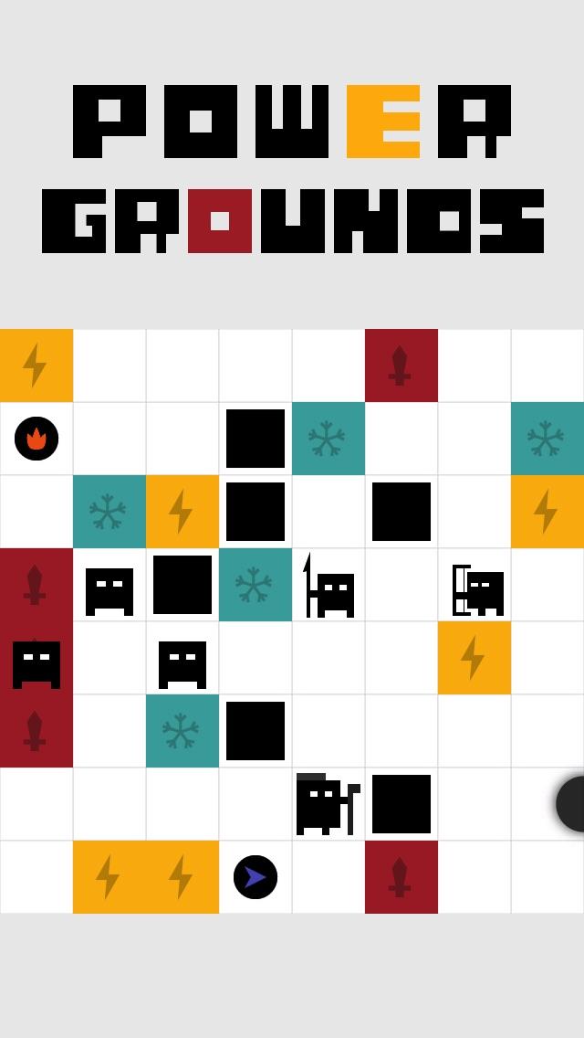 Power Grounds Screenshot on iOS