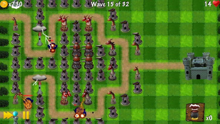 Zombie Tower Shooting Defense Free - by Top Free Games screenshot-4