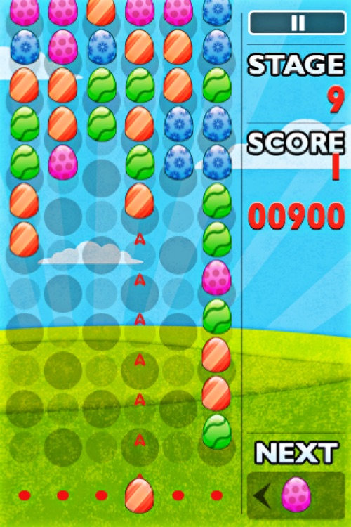 Easter Egg Blitz Blaster Free - Falling Bubble Shooter Game screenshot-4