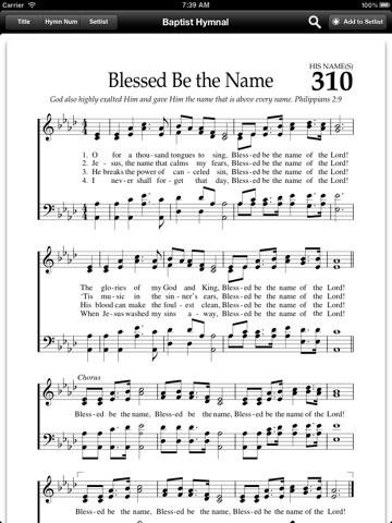 Baptist Hymnal Free