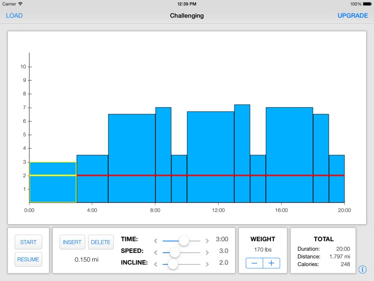 Treadmill Interval Running Lite screenshot-2