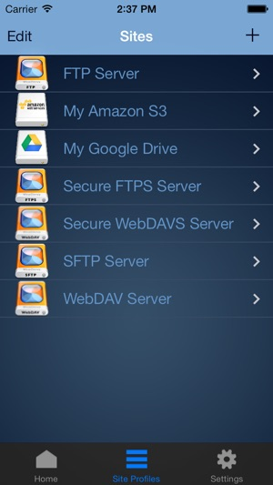 WebDrive – WebDAV, SFTP, FTP Secure File Transfer Client on