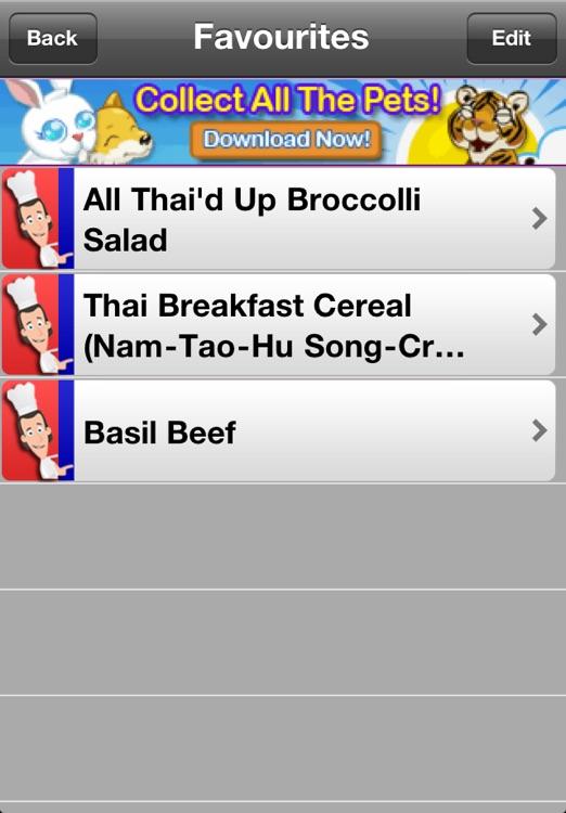 Thai Recipes Lite screenshot-4