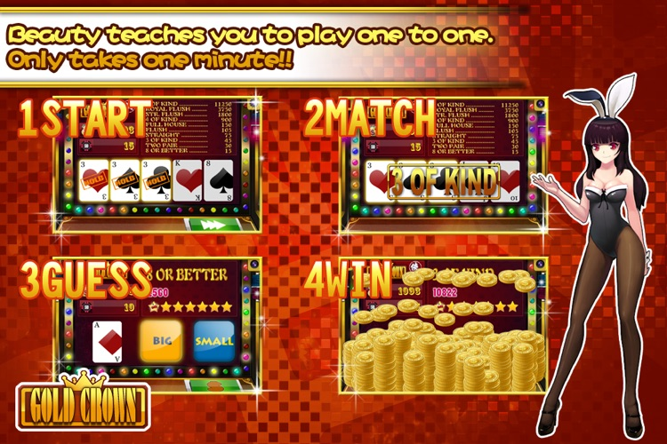Gold Crown™ Video Poker