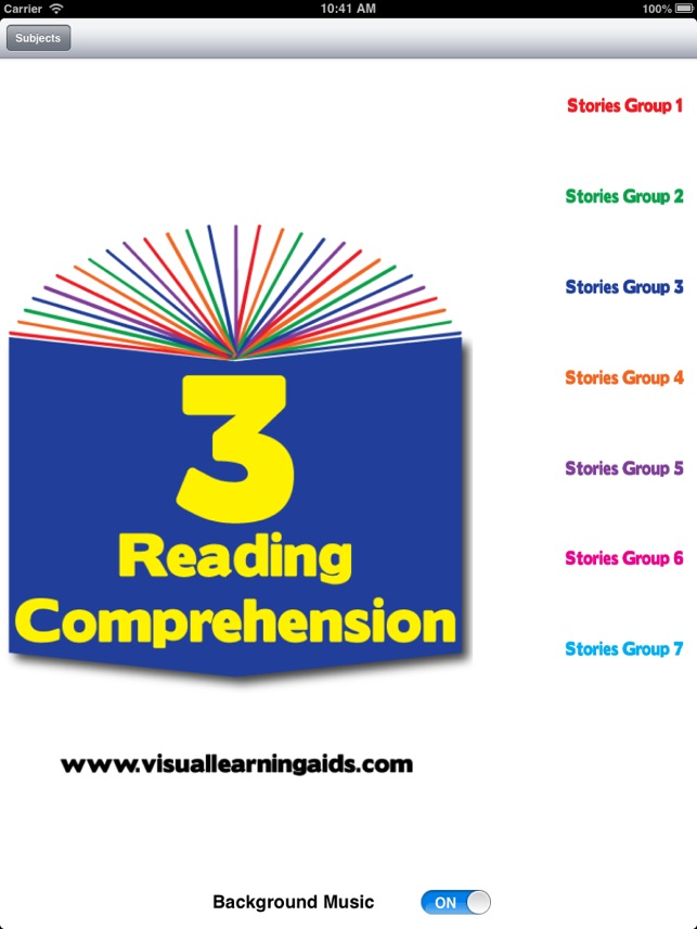 3rd grade fiction comprehension stories