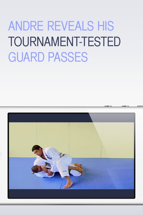 BJJ Guard Passing  - Andre Galvao Jiu Jitsu Vol 4 screenshot-3