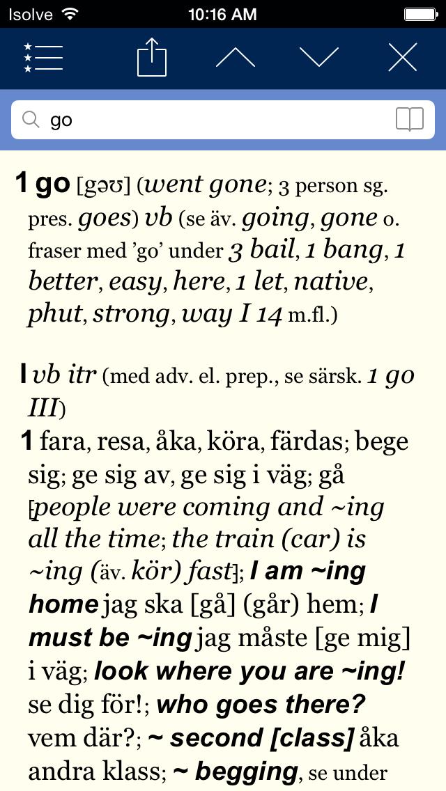 Norstedts engelska ordbok Pro 2.0のおすすめ画像2