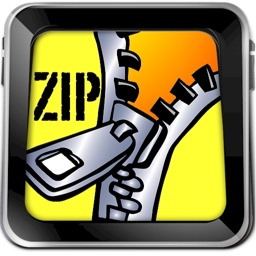Zip File Manager HD for iPad icon