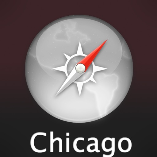 Chicago Travel Map icon