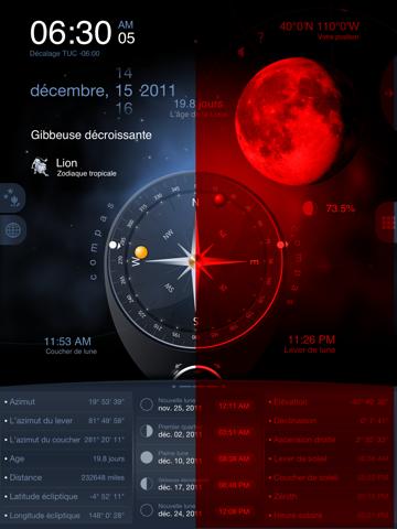 Screenshot #4 pour Lune de Luxe HD Pro - Phase de Lune Calendrier