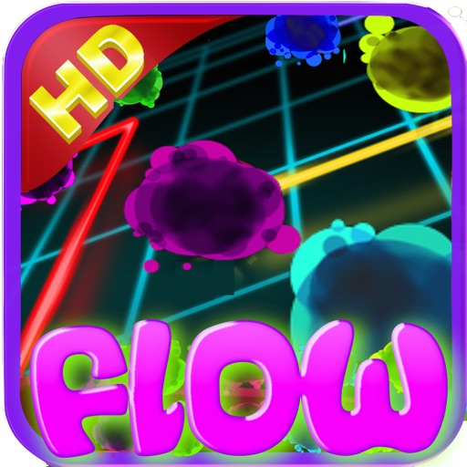 Neon Poppers Crush Flow -Free icon