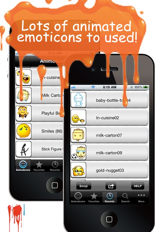 Animoticons+Emoji PRO for MMS & Facebook Text Messaging screenshot-3