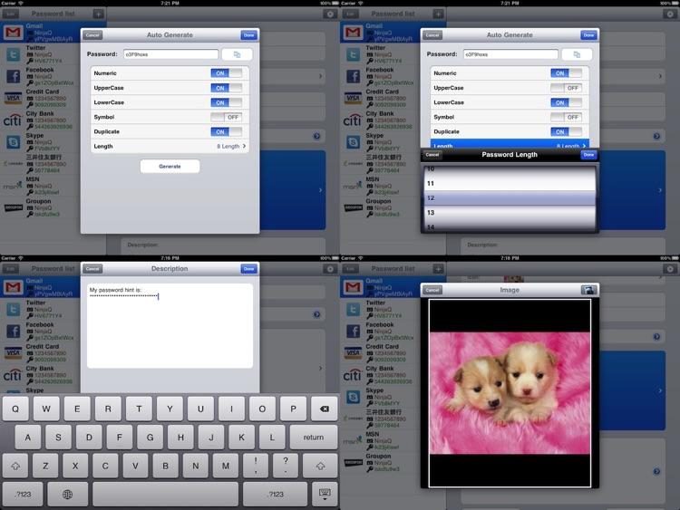 My Password List HD screenshot-4