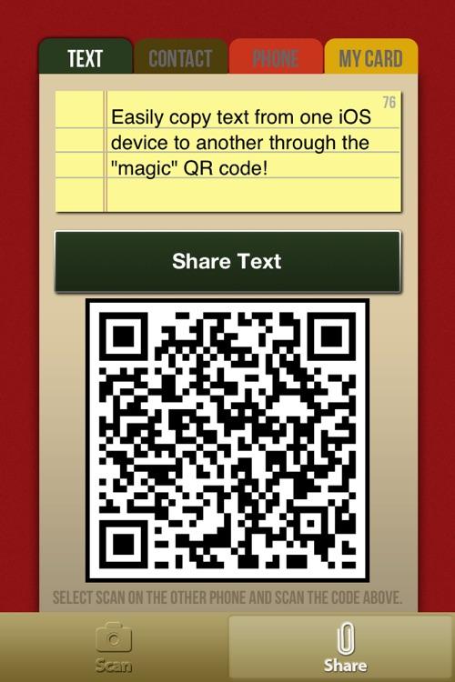 Copy Magic - Magically copy text and contacts between phones! screenshot-3