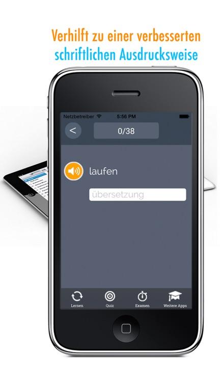 Learn German and Portuguese: Memorize Words - Free screenshot-3