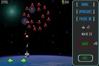 Space Cadet Defender screenshot two