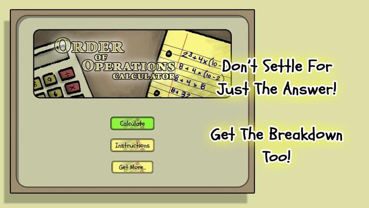 OoO Calc: Order of Operations Calculator