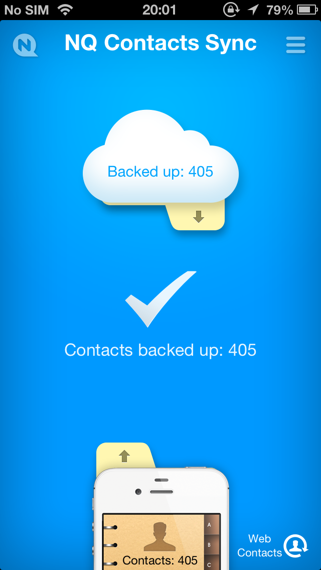 NQ Contacts Sync screenshot