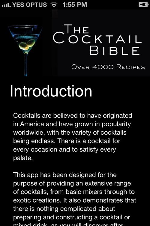 The Cocktail Bible screenshot-3